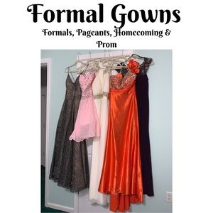 Formal Dresses Prom, Homecoming, Pageants& Formals